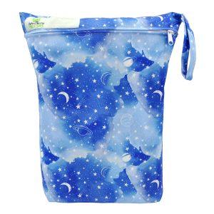 WWet Bag Blue Galaxy Front
