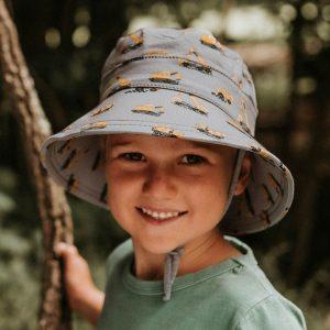 Boys Bucket Hat Machinery Model Front
