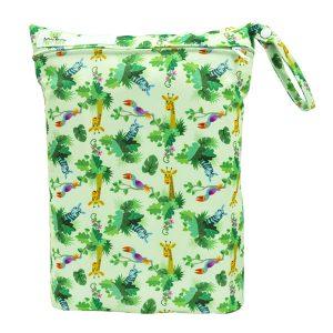 Jungle Giraffes Wet Bag Front