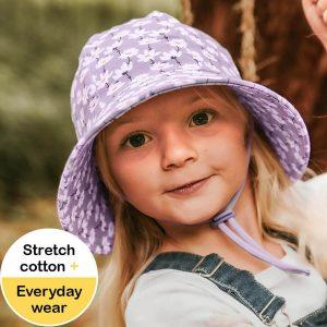Kids Bucket Hat Cosmos Model Front