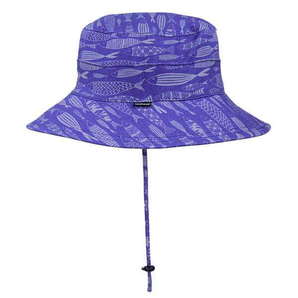 Kids Bucket Hat Fish Side