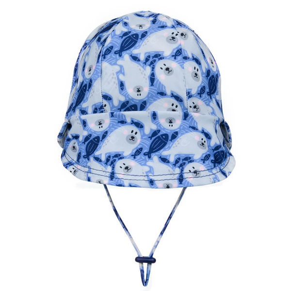 Kids Legionnaire Swim Hat Seal Back