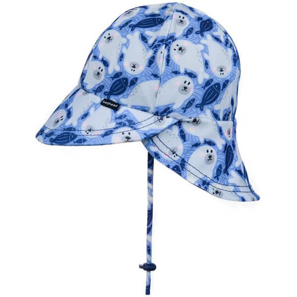 Kids Legionnaire Swim Hat Seal Side