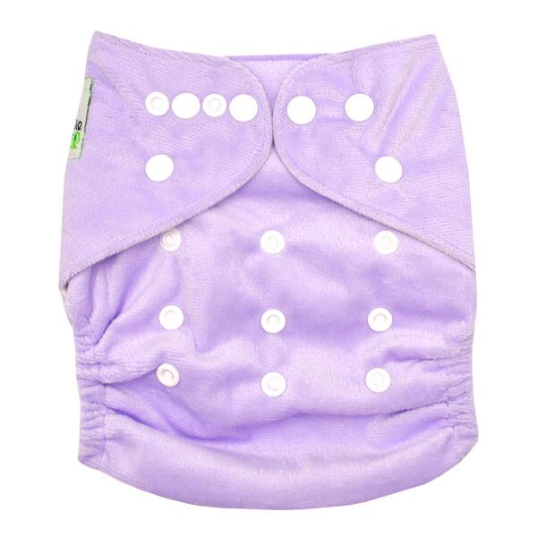 MCN Lavender Minky Front