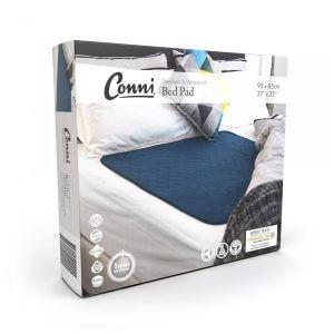 Reusable Bed Pad Teal Packaging