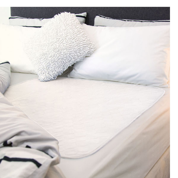Reusable Bed Pad White