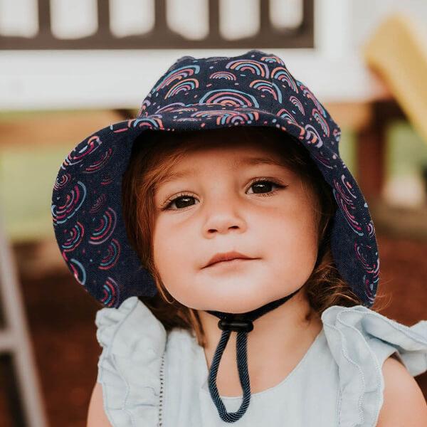 Toddler Bucket Rainbow Model Front